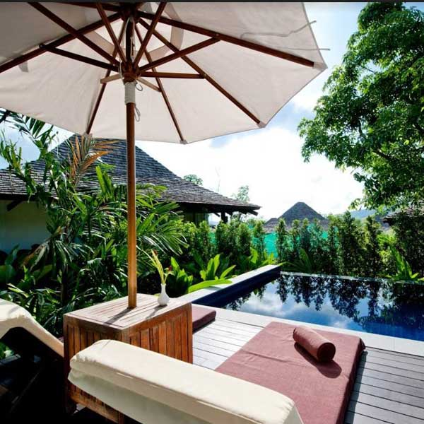 Enjoy one night Deluxe Pool Villa at 'The Vijitt Resort' Phuket.